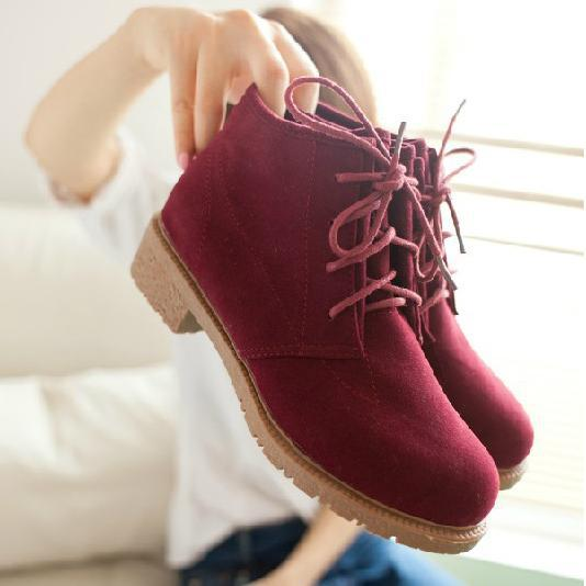 New 2014 Women's Vintage Casual Shoes, Women Fashion Motorcycle Boots, Classical Creepers, Artificial Leather Shoes XWP006(China (Mainland))