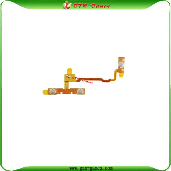 10pcs/lot Power volume button flex cable for ipod touch 2G Free shipping(China (Mainland))