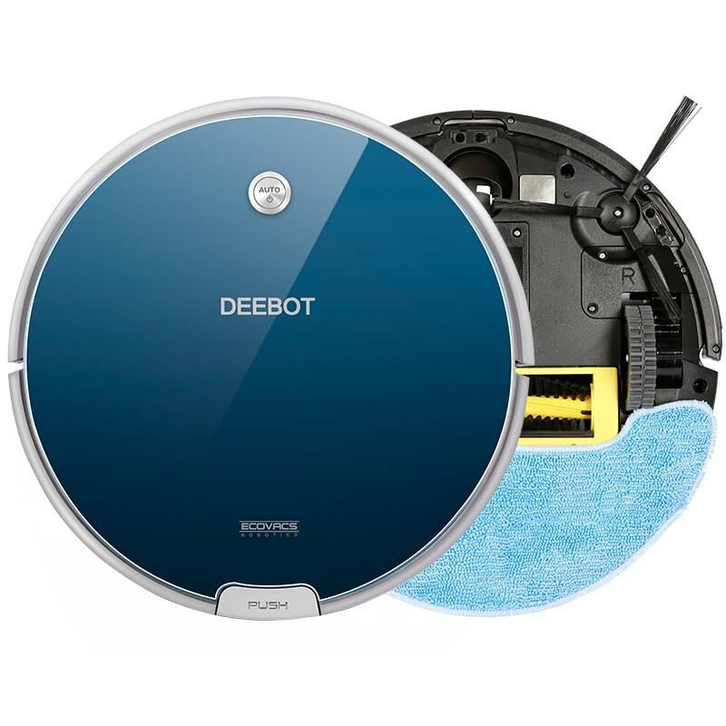 Robot Vacuum Cleaner ECOVACS DEEBOT Tiary CEN664 for Home, 1000Pa 55DB, 300ml Water Tank, Sweep, Suction, Wet Mopping and Dry(China (Mainland))