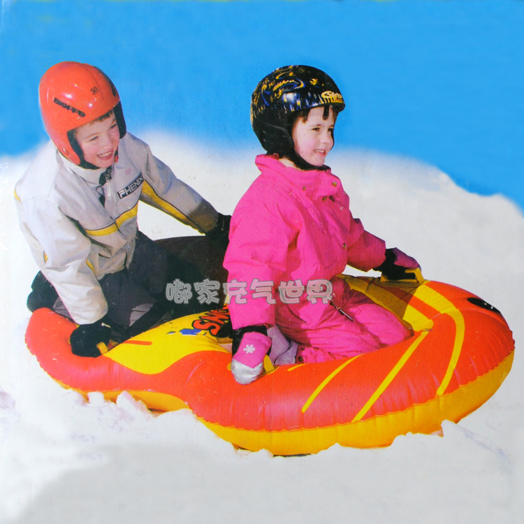 2015 Hot sale Inflatable Sledge Snow Twist Snow Tube Inflatable Snow Tube Sleds Skiing Tube for 2 persons skiing accessories OO5(China (Mainland))