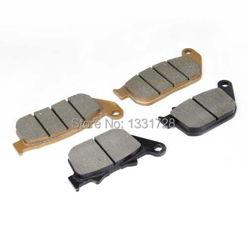 100% Brand New Motorcycle Front+Rear Brake Pads Harley XL883 Sportster - Handsome Accessories store