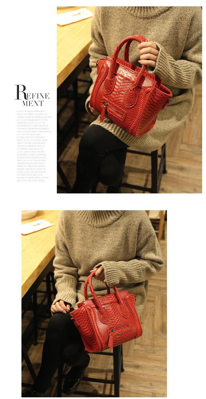 ซื้อ ฤดูใบไม้ร่วงฤดูหนาวยิ้มกระเป๋า2016ที่มีชื่อเสียงออกแบบจระเข้C Rossbodyกระเป๋าผู้หญิงกระเป๋าหนังกระเป๋าสะพายขนาดเล็กถุงMessenger