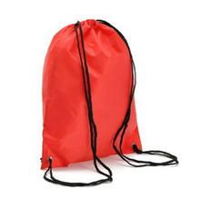 Mochila de viaje con cordón de cuerda bolsa Cinch saco escuela bolsa de gimnasio paquete deportivo(China)