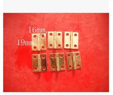100pc ordinary hinge 1.9 * 1.6cm lace cabinet hardware accessories hinge hinge wooden hinge(China (Mainland))