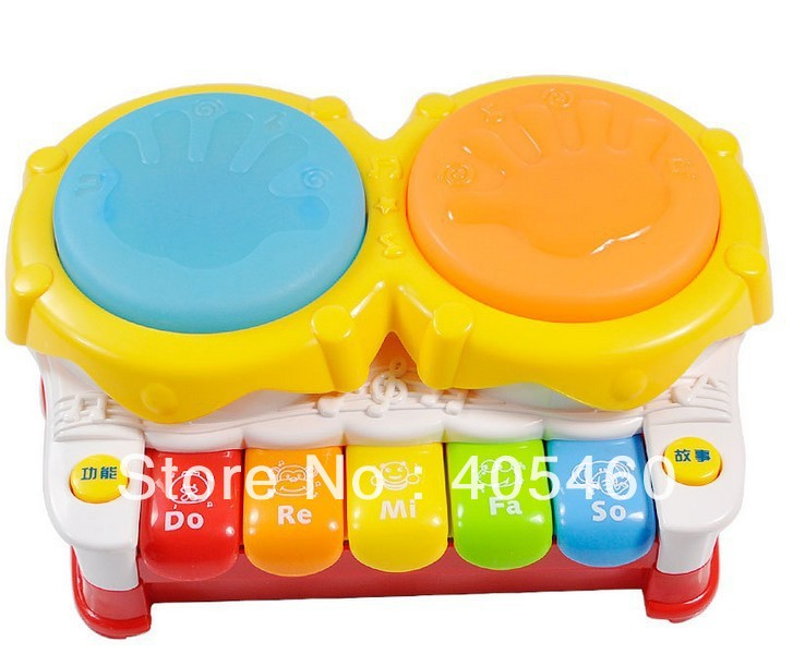 Child piano electric hand drum music child puzzle early learning toy(China (Mainland))
