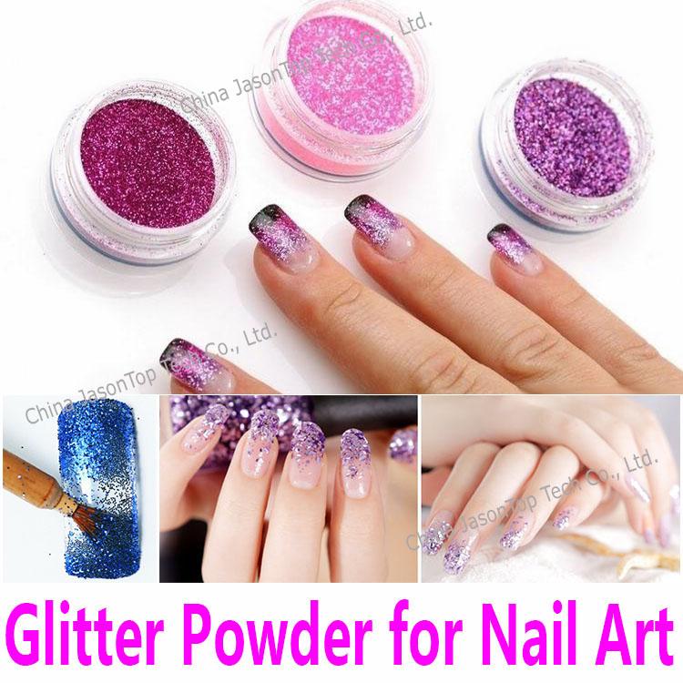 Nail Glitter Powder Nail Art Decorations PET Hexagon Shimmer Glitters UV Gel Acrylic Shining Crafts 19 Popular Colors Wholesale(China (Mainland))