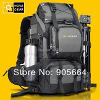 Free shipping.professional Camera backpack,big prefect quality.Brand digital camera bag,canvas dslr video case,power
