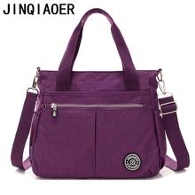Buy Women's Shoulder Bags Solid Travel Waterproof Handbag Messenger Bags Women Fashion Casual Nylon Tote Crossbody Bag Female for $15.78 in AliExpress store