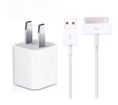 Free Shipping Charging companion suit phone4/4s phone charger data cable accessories(China (Mainland))