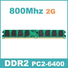 KVR800D2N6/2G  PC-6400 DDR2 800 Mhz 2 GB 2G Memory Ram Memoria for Desktop PC Free Shipping Lifetime Warranty