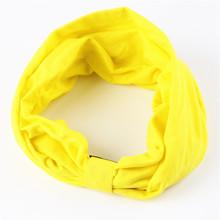 New variety of wear method Cotton Elastic Sports Headbands Wide Headband HB054(China (Mainland))