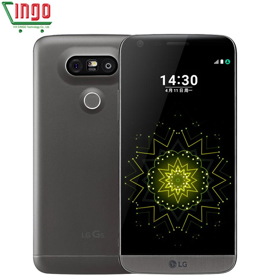 """LG G5 H820 H830 H850 F700 H860N Mobile Phone 3 Camera Quad-core 4GB RAM 32GB ROM 5.3"""" 4G WIFI GPS Refurbished LG G5(China (Mainland))"""