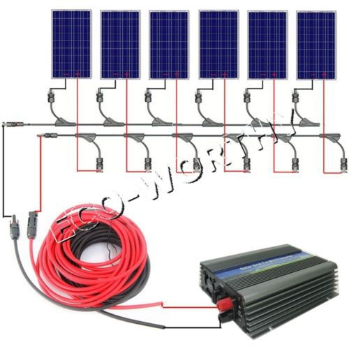 600W COMPLETE KIT: 6x 100W PV Solar cell Panel 12V solar panel for RV charging<br><br>Aliexpress