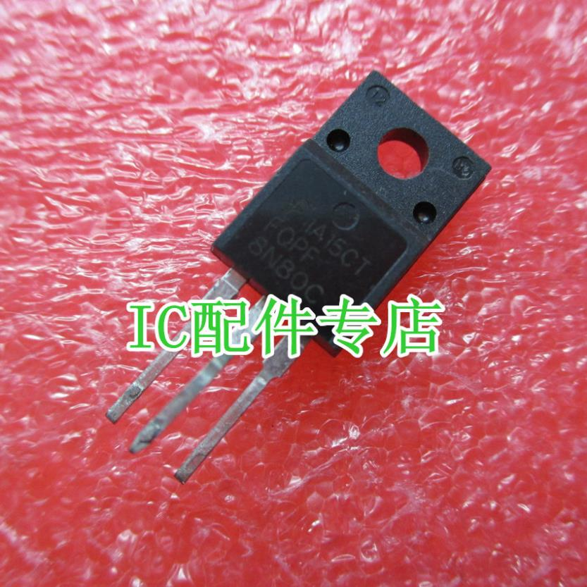 [ IC ] special - FQPF8N80C MOSFET 8N80 good quality test(China (Mainland))