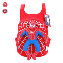 Cute New 3D Spiderman School Bag Boys Backpack Kids Children Cartoon School Bags Backpacks Baby Child Infantil Escolar Mochilas(China (Mainland))