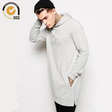 Newest Streetwear Clothing Mens Longline Hoodie Oversized Hoodies Hip Hop Long Hoodie Men Side Zipper Hoodie Free Shipping(China (Mainland))