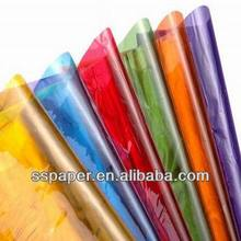 Colored Clear Resealable Cellophane BOPP Poly  paper Transparent Opp in big size 10pcs/lot 70*100CM   Packing Plastic Cellophane(China (Mainland))