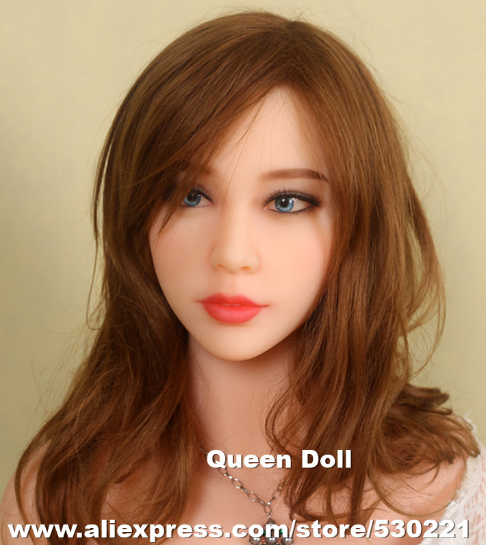 2016 New Top quality asian sex dolll head for human dolls, chinese love dolls head with oral sex, adult sex toys for men(China (Mainland))