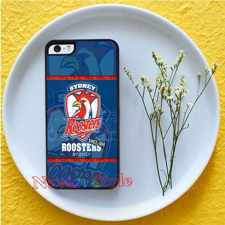 NRL Sydney Roosters original cell phone case cover for iphone 4 4s 5 5s 5c 6 6 plus 6s 6s plus #M159(China (Mainland))