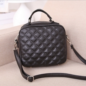 2015 new European American fashion women bag Korean retro Lingge small portable shoulder bag diagonal package messenger bags