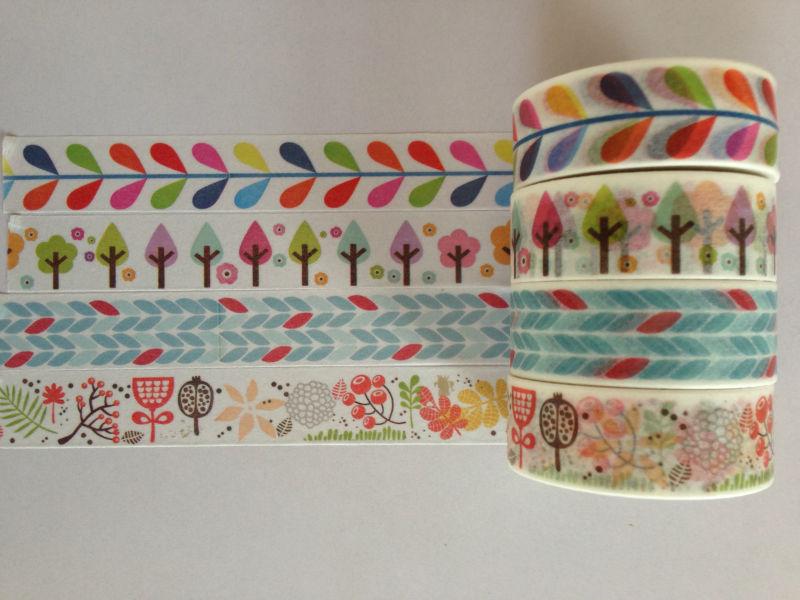 2131patterns mt diy washi Japanese tape new arrival design japanese masking tape free shipping(China (Mainland))