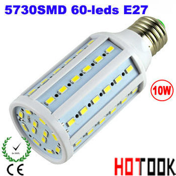 Led Lamp E27 10W 220V Corn Light 5730 SMD 60leds led bulb lamp indoor lighting 5730SMD lampara ampolletas led kicthen light luz