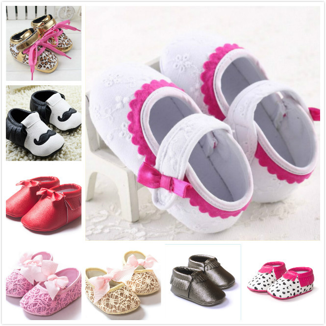 Hot sale baby shoes pink shoes cute soft baby girl toddler shoes first walker shoes ages 0-18 Month free shipping(China (Mainland))