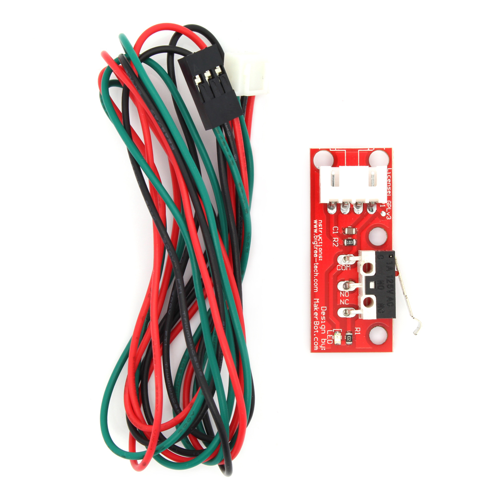 Free Shipping 6pcs lot Endstop mechanical limit switch RAMPS 1 4 for 3D printer