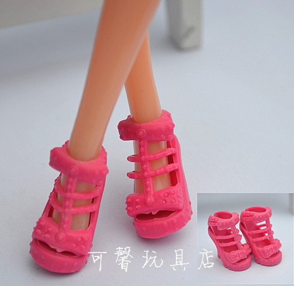 10Pairs Colourful Assorted Vogue doll sandals Heels  Sneakers For Barbie Doll With Totally different Kinds  Toy Ladies Reward for women toy