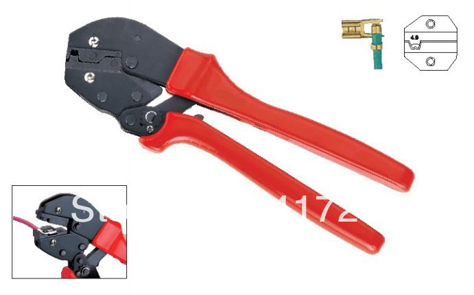 Terminal Crimper For Non-insulated flag type Terminal 0.5-1.5Square millimeter 22-16AWG<br><br>Aliexpress