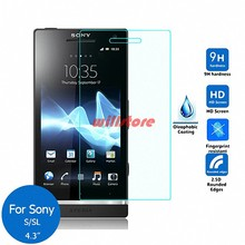 Tempered Glass Screen Protector Film for Sony Xperia S SL LT26i LT26ii V LT25i J ST26i L S36h TX LT29i ZR M36H SP M35h