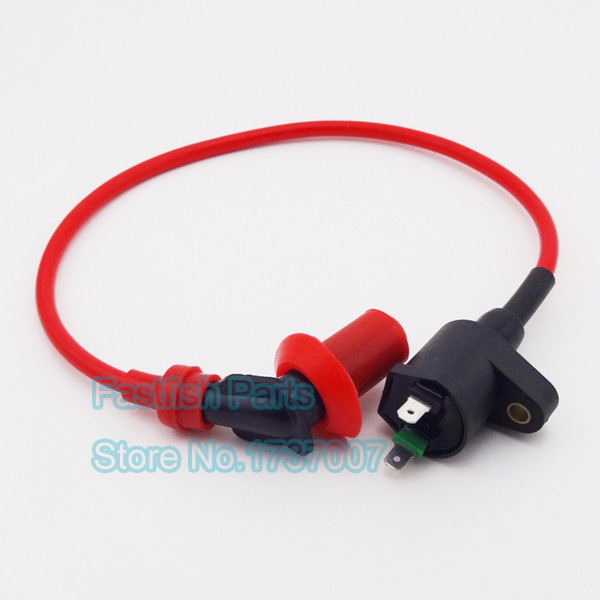 GY6 Racing Ignition Coil For Gy6 50cc 125cc 150cc Moped Scooter ATV Quad Motorcycle Motocross(China (Mainland))