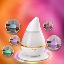 LS4G 7 Color Ultrasonic Home Aroma Humidifier Air Diffuser Purifier Purifier Atomizer Essential Oil Diffuser Mist Maker Fogger