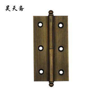 2016 Chinese Antique copper- copper hinge hinge-antique furniture accessories -copper hinge HTF-001 6 small hole copper hinge(China (Mainland))