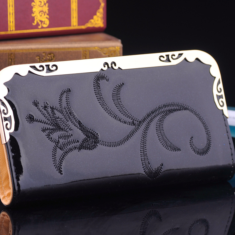 Free shipping 2015 new female long purse Wallet fashion female bag clutch purse multifunction ladies wrist bag purse<br><br>Aliexpress