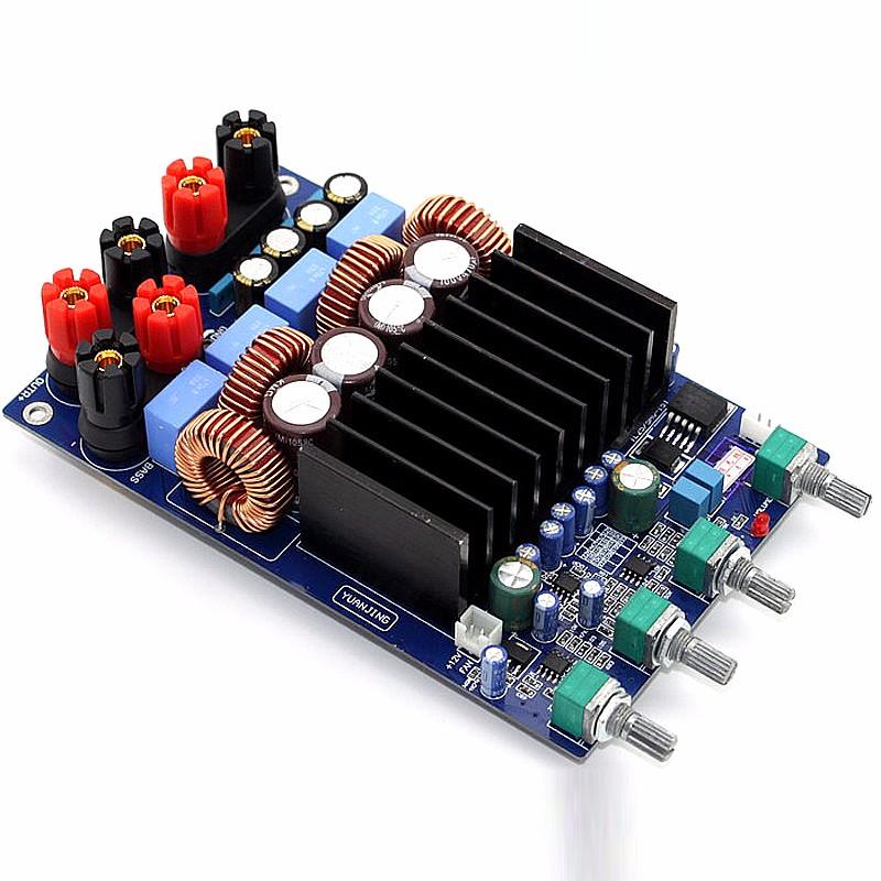 ถูก TAS5630 2.1 4ohm C Lass Dคณะกรรมการขยายเสียงดิจิตอล300วัตต์+ 150วัตต์+ 150วัตต์จัดส่งฟรี