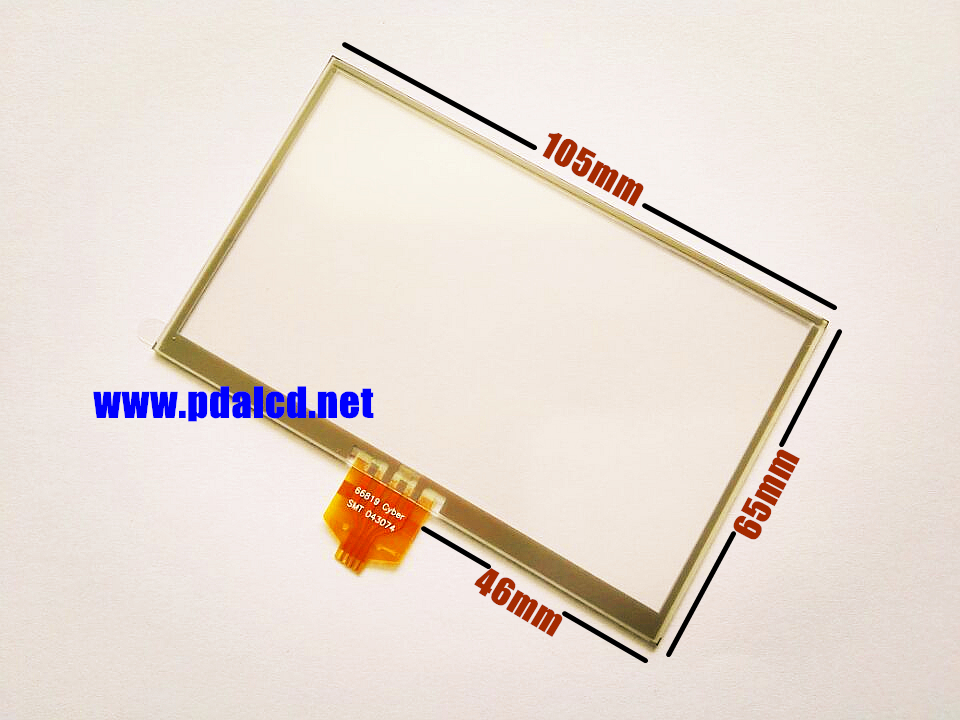 """wholesale"""" New 4.3-inch Touch screen panels for TomTom GO 730 730T GPS Touch screen digitizer panel replacement Free shipping(China (Mainland))"""
