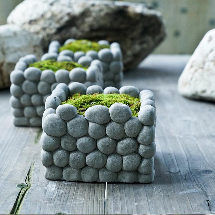 Как сделать каменный цветок своими руками