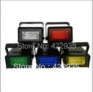 1pc ,LED Flash lamp Party Disco Mini Strobe stage Light DJ Lighting 5 color for Choice ,Dropshipping+ Free Shipping