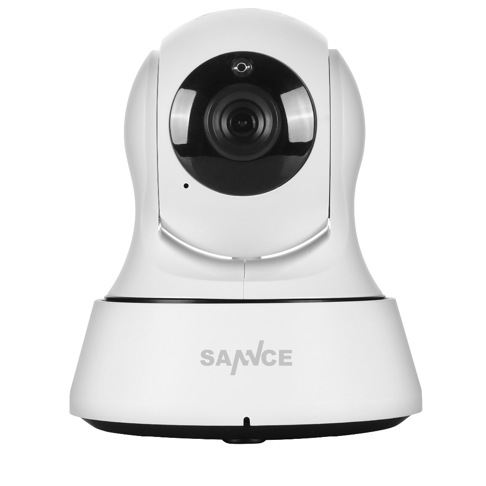 SANNCE 720P High Resolution CCTV IP Camera IR Cut 6Led Day/Night Vision P2P Indoor Wireless wifi video Surveillance Camera(China (Mainland))