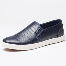 New 2016 Summer Mens Platform Shoes Breathable PU Crocodile Flats Slip on Men Loafers Driving Moccasins