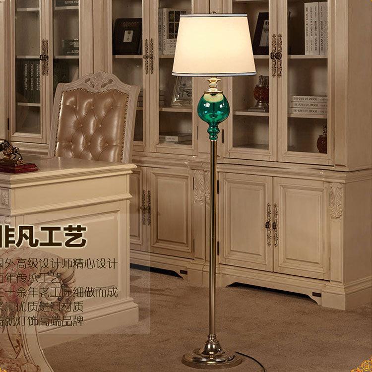 Direct factory price of modern minimalist living room bedroom den Fashion Club hotel luxury creative glass floor lamp(China (Mainland))