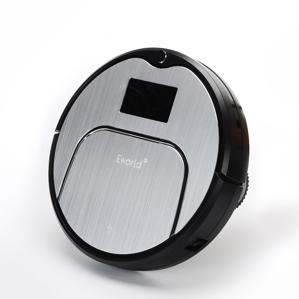 Wireless Vacuum Cleaner Robot For Home ABS and Aluminium Alloy Robot Vacuum Cleaner for Dry Wet Cleaning(China (Mainland))