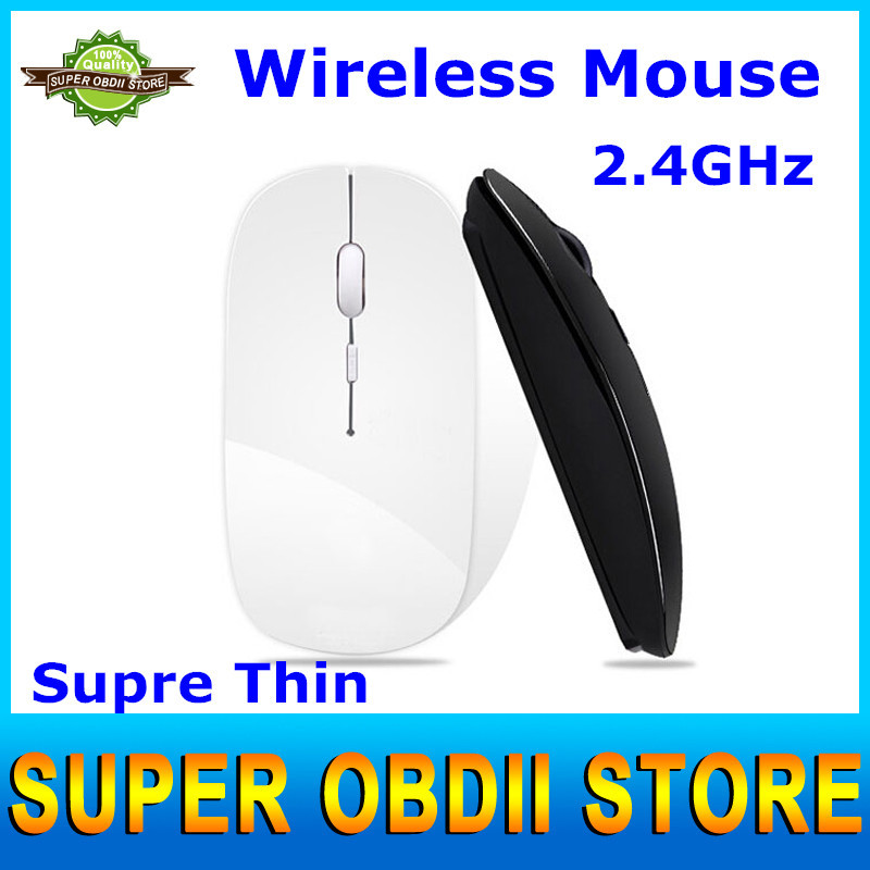 Best Quality Ultra Thin Mouse Wireless USB Optical Gaming Mouse For Laptops & PC With 6 Colors Optional(China (Mainland))