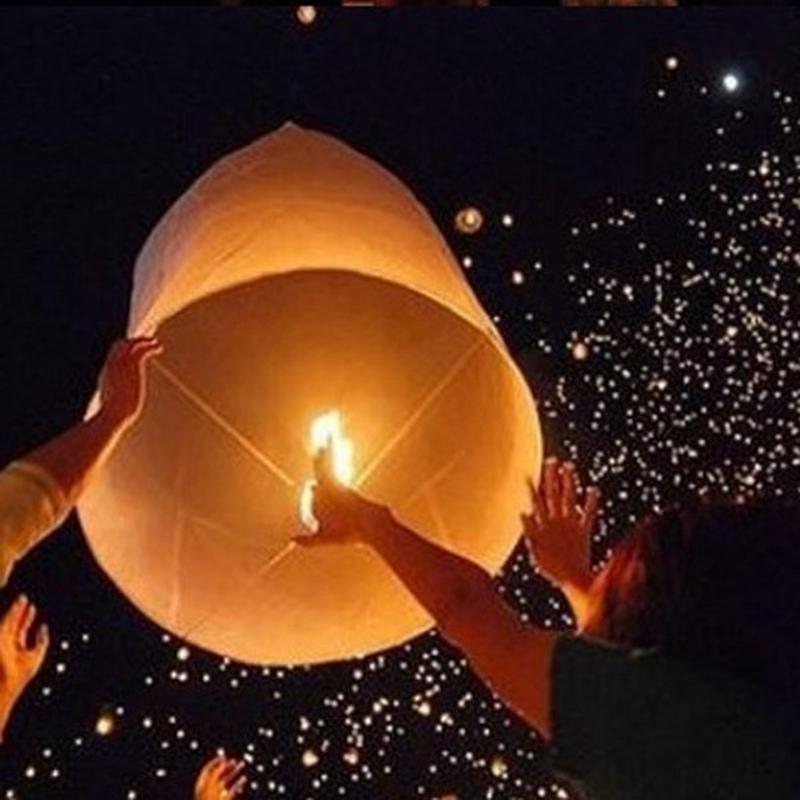 5Pcs X Cute Love Heart KongMing Sky Lanterns Air Balloon Chinese Traditional Wishing Lamp Green Color Toys Memorial Party Green(China (Mainland))