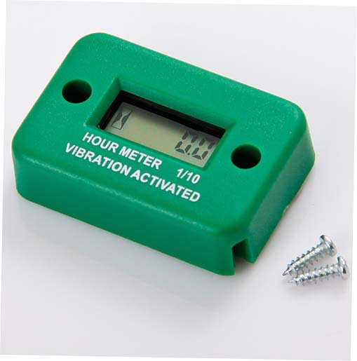 Electric Motor Hour Meters : Waterproof vibration wireless hour meter for gas diesel