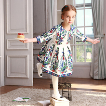 Buy WL MONSOON Girls Party Dress Children Vestidos Brand Kids Costume Princess Girls Dresses Floral Pattern Kids Dress for $39.99 in AliExpress store