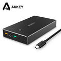 AUKEY 20000mAh Power Bank With Quick Charge 3 0 Fast Charging Dual USB Portable External Battery