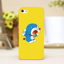 pz0068-103 catton jumping doraemon Design phone transparent cover cases for iphone 4 5 5c 5s 6 6plus Hard Shell