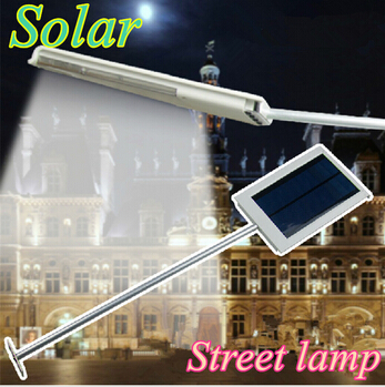 2015 new Solar Powered Panel 15 LED Street Light Solar Sensor Light Outdoor Garden Path Spot Light Wall Emergency Lamp luminaria(China (Mainland))